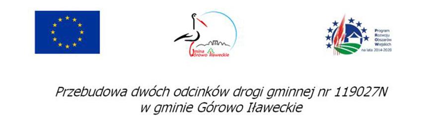 Przebudowa dwóch odcinków drogi gminnej nr 119027N w gminie Górowo Iławeckie